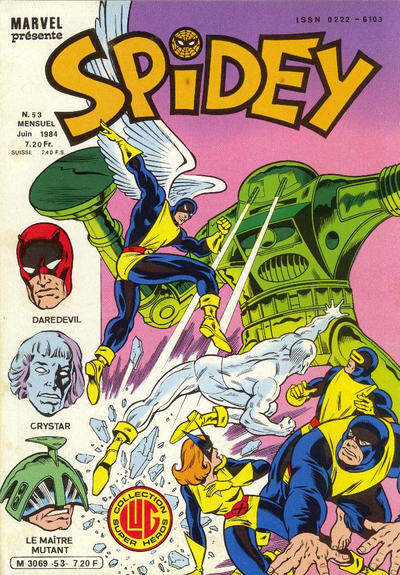Cover for Spidey (Editions Lug, 1979 series) #53