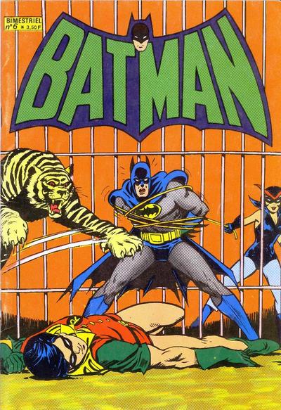 Cover for Batman Bimestriel (Sage - Sagédition, 1975 series) #6