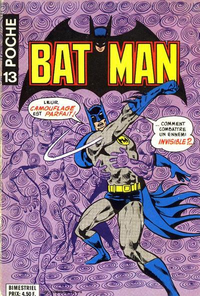 Cover for Batman Poche (Sage - Sagédition, 1976 series) #13