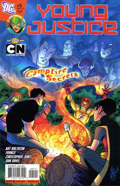 Cover for Young Justice (DC, 2011 series) #5