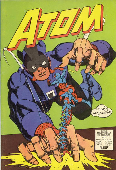 Cover for Atom (Arédit-Artima, 1971 series) #6