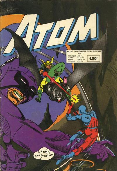 Cover for Atom (Arédit-Artima, 1971 series) #9