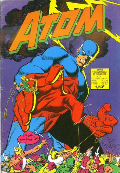 Cover for Atom (Arédit-Artima, 1971 series) #11