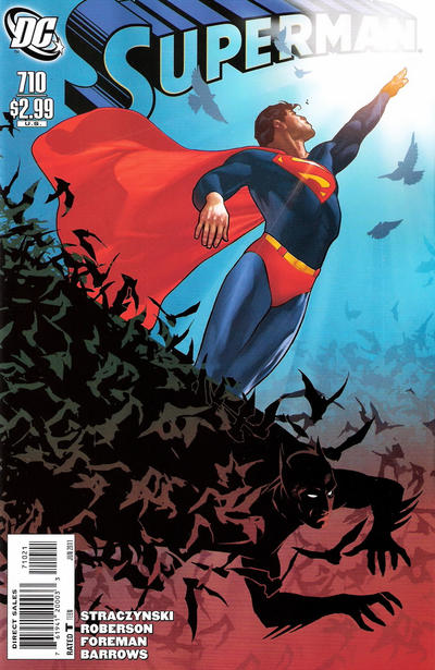 Cover for Superman (DC, 2006 series) #710 [Direct]