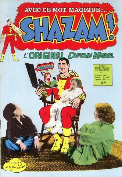 Cover for Shazam ! (Arédit-Artima, 1974 series) #6