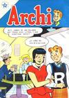 Cover for Archi (Editorial Novaro, 1956 series) #10
