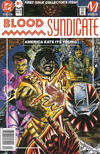 Cover for Blood Syndicate (DC, 1993 series) #1 [Newsstand]