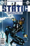 Cover Thumbnail for Static (1993 series) #1 [Newsstand]