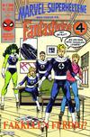 Cover for Marvel Superheltene (Semic, 1987 series) #4/1989