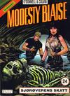 Cover for Modesty Blaise (Hjemmet / Egmont, 1998 series) #24 - Sjørøverens skatt
