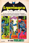 Cover for Lynvingen (Semic, 1977 series) #1/1978
