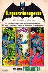 Cover for Lynvingen (Semic, 1977 series) #1/1978