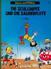 Cover for Johann und Pfiffikus (Carlsen Comics [DE], 1979 series) #1 - Die Schlümpfe und die Zauberflöte