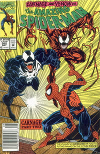 Cover Thumbnail for The Amazing Spider-Man (Marvel, 1963 series) #362 [Newsstand]