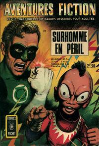 Cover Thumbnail for Aventures Fiction (Arédit-Artima, 1966 series) #21