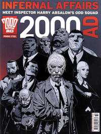Cover Thumbnail for 2000 AD (Rebellion, 2001 series) #1732