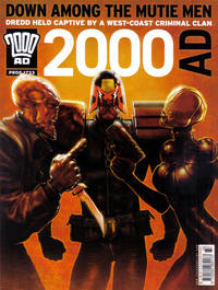 Cover Thumbnail for 2000 AD (Rebellion, 2001 series) #1733