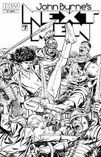 Cover Thumbnail for John Byrne's Next Men (IDW, 2010 series) #7 [RI Cover]