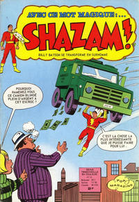 Cover Thumbnail for Shazam ! (Arédit-Artima, 1974 series) #10
