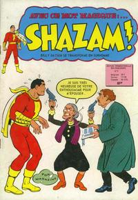 Cover Thumbnail for Shazam ! (Arédit-Artima, 1974 series) #9