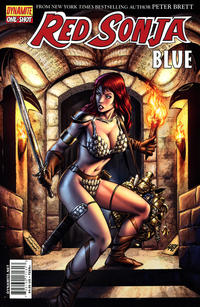 Cover Thumbnail for Red Sonja: Blue (Dynamite Entertainment, 2011 series)  [Walter Geovani Cover]