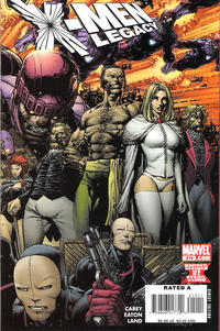Cover Thumbnail for X-Men: Legacy (Marvel, 2008 series) #210 [Direct Edition]