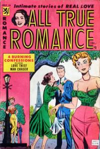 Cover Thumbnail for All True Romance (Comic Media, 1951 series) #18