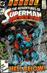 Cover Thumbnail for Adventures of Superman Annual (DC, 1987 series) #1 [Direct Sales]