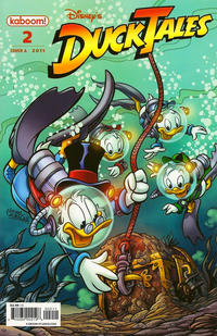 Cover for DuckTales (Boom! Studios, 2011 series) #2 [Cover A]