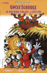 Cover Thumbnail for Uncle Scrooge: The Mysterious Stone Ray & Cash Flow (Boom! Studios, 2011 series)