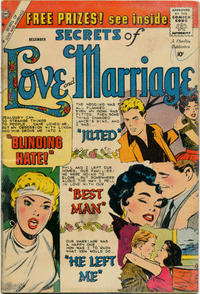 Cover Thumbnail for Secrets of Love and Marriage (Charlton, 1956 series) #16