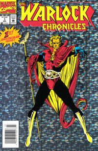Cover Thumbnail for Warlock Chronicles (Marvel, 1993 series) #1 [Newsstand]