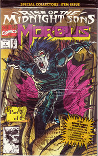 Cover Thumbnail for Morbius: The Living Vampire (Marvel, 1992 series) #1
