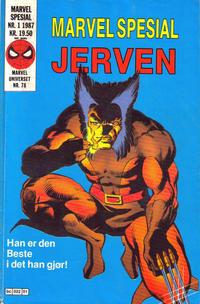 Cover Thumbnail for Marvel Spesial (Semic, 1987 series) #1/1987