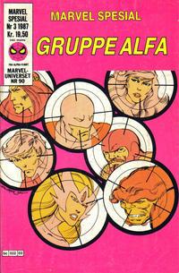 Cover Thumbnail for Marvel Spesial (Semic, 1987 series) #3/1987