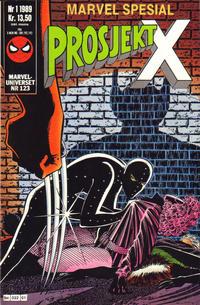 Cover Thumbnail for Marvel Spesial (Semic, 1987 series) #1/1989