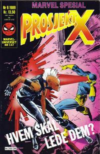 Cover Thumbnail for Marvel Spesial (Semic, 1987 series) #6/1989