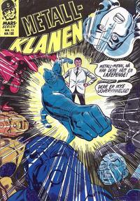 Cover Thumbnail for Mars-serien [Metall-klanen] (Illustrerte Klassikere / Williams Forlag, 1968 series) #10