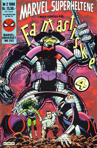 Cover Thumbnail for Marvel Superheltene (Semic, 1987 series) #2/1988