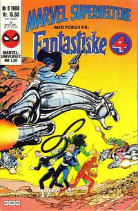 Cover Thumbnail for Marvel Superheltene (Semic, 1987 series) #6/1988