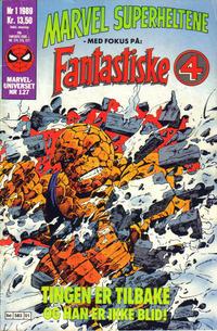 Cover Thumbnail for Marvel Superheltene (Semic, 1987 series) #1/1989