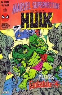 Cover Thumbnail for Marvel Superheltene (Semic, 1987 series) #3/1989