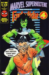 Cover Thumbnail for Marvel Superheltene (Semic, 1987 series) #2/1989
