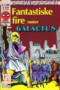 Cover Thumbnail for Marvel-pocket (Semic, 1985 series) #2/1985