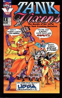 Cover Thumbnail for Tank Vixens (Antarctic Press, 1994 series) #2