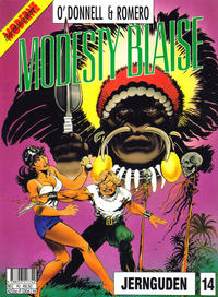Cover Thumbnail for Modesty Blaise (Semic, 1988 series) #14 - Jernguden