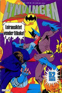 Cover Thumbnail for Lynvingen (Semic, 1977 series) #9/1980