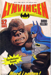 Cover Thumbnail for Lynvingen (Semic, 1977 series) #8/1980