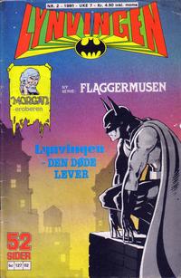 Cover Thumbnail for Lynvingen (Semic, 1977 series) #2/1980