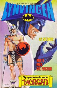 Cover for Lynvingen (Semic, 1977 series) #1/1980